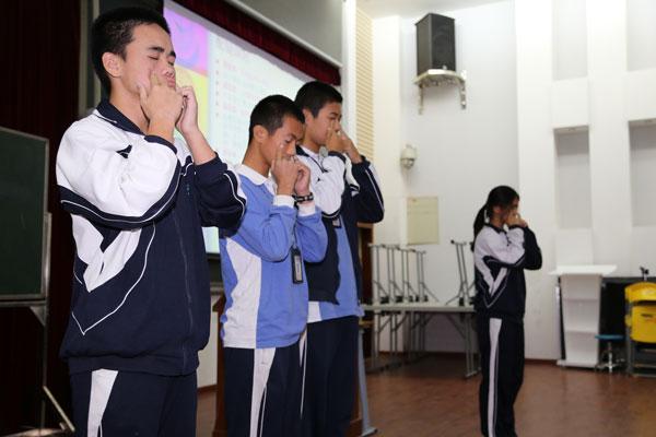 青少年健康用眼公益讲座
