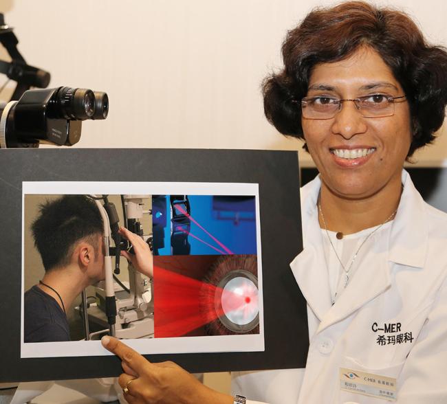 光动力疗法,中心性视网膜炎