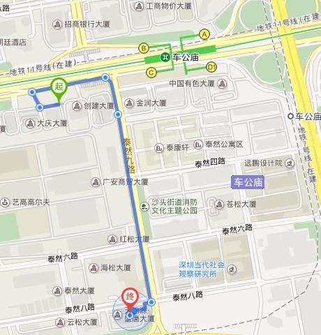 深圳北站到眼科医院怎么走