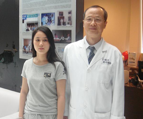 针灸治疗屈光不正弱视,视力从0.3提升到0.9!