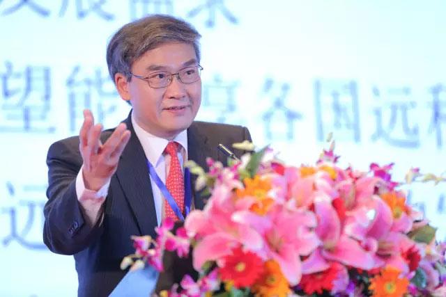 林顺潮教授代表亚太眼科学会祝贺亚太远程眼科学会成立!